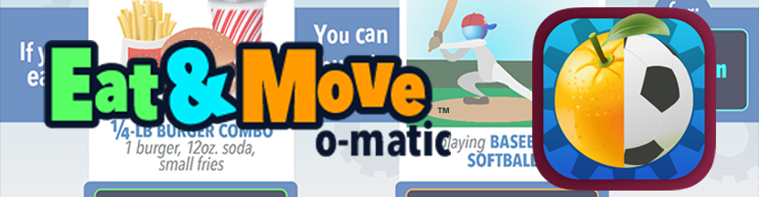 Eat Move O-Matic Banner