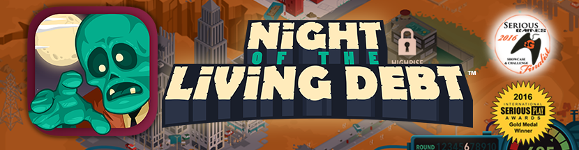 Night of the Living Debt Banner